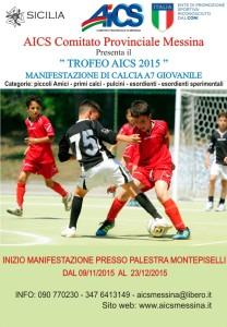 Locandina TROFEO AICS 2015