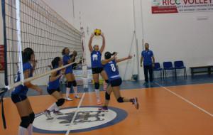 La Saracena Volley durante l'allenamento