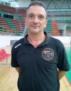 Tommaso D'Arrigo, coach dell'ASD Handball Messina