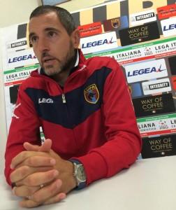 Giorgio Galluzzo, allenatore della Lupa