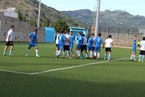 Fase di gioco Sporting Taormina