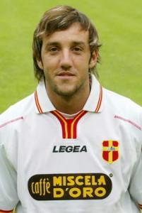 Alessandro Parisi con la maglia del Messina nel 2004-05