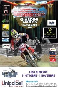 Supermarecross poster giardini