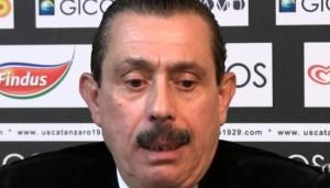 Giuseppe Cosentino, presidente del Catanzaro