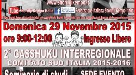 Secondo gasshuku a Messina