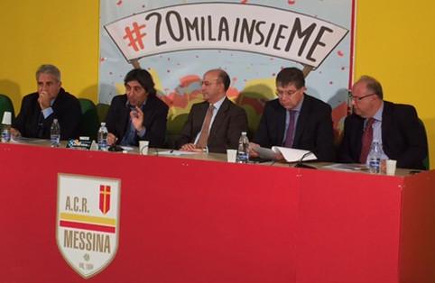 20_mila_insieme_La conferenza stampa di presentazione dell'iniziativa #20milainsieME