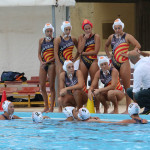 Un time out della Waterpolo
