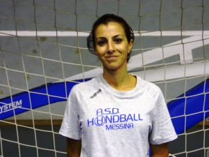 Clara Brunello dell'Handball Messina