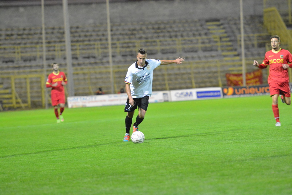 Aurelio Barilaro, al debutto da titolare a Catanzaro
