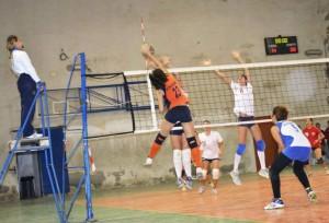 ASD Volley 96 Milazzo - Messana Tremonti - De Francesco in attacco