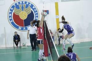 Funziona il muro del Santa Teresa Volley