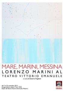 """La locandina """"Mare, Marini, Messina"""""""