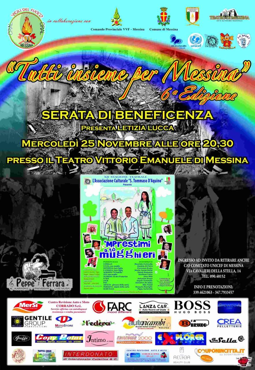 Locandina_Tutti Insieme per Messina_Sesta Edizione