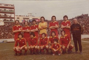 L'unici giallorosso che sconfisse il Catania al Celeste nella stagione 74-75