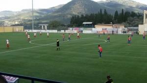Rocca-Igea Virtus, calcio d'inizio