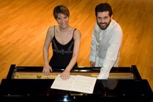 Rossella Spinosa e Alessandro Calcagnile