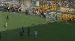 Sullo dal dischetto in Messina-Catania del 2001