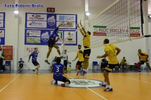 Volley Brolo in azione