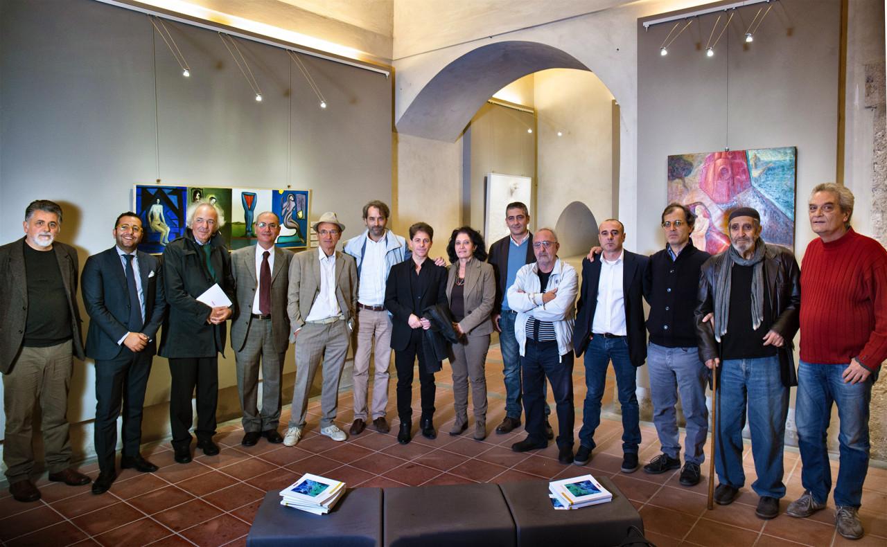 Il gruppo di artisti
