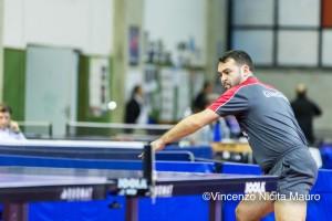 Umberto Giardina in azione