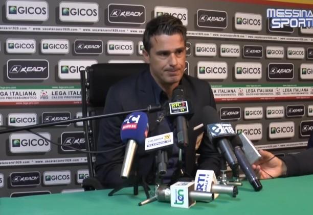 Arturo Di Napoli in sala stampa
