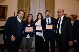 La cerimonia è stata ospitata dal Circolo Ufficiali di Palermo
