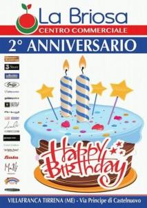 Secondo anniversario per il Centro Commerciale La Briosa