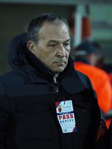 Il presidente giallorosso Stracuzzi