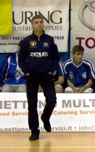 Dani Baldaro, coach del Gruppo Zenith Messina