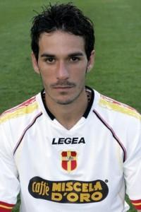 D'Agostino, in gol nel 2005 a Lecce con una doppietta