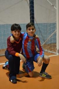 Due giocatori di Messina Sud e Rosario Central