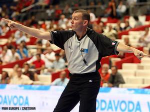 L'arbitro internazionale Fabio Facchini