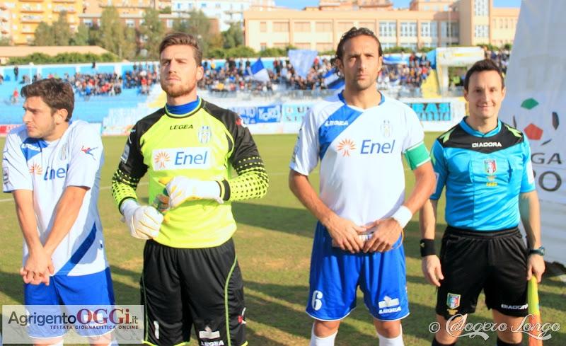 Alcuni calciatori dell'Akragas
