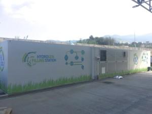 Impianto produzione-compressione-storage idrogeno