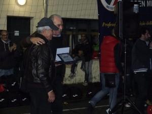 Lillo Foti durante le premiazioni
