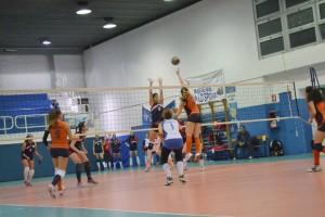 Lorenza Panarello (Messana Volley) in azione