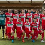 Gli undici titolari scesi in campo contro lo Sporting Taormina