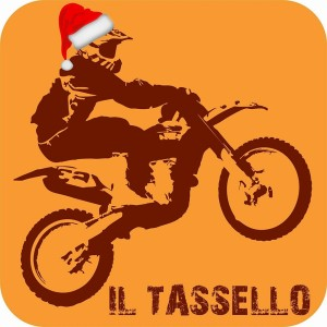 Il rinnovato logo de Il Tassello in versione natalizia