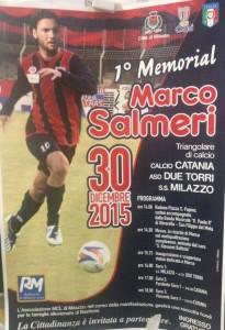 Locandina Memorial Marco Salmeri