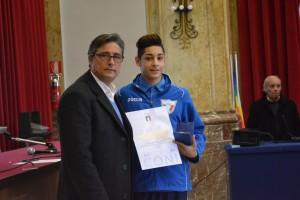 Premiazione Davide Sidoti Olivo