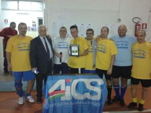 Premiazione squadra vincitrice
