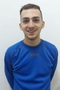 Il centrocampista Salvatore Nizzari