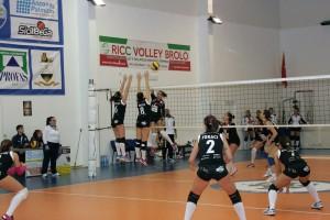 La Saracena Volley in azione