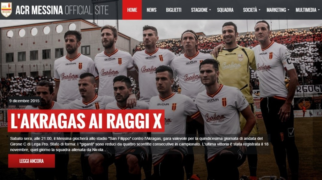 home-page ACR Messina