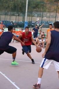 Riccardo Santolamazza in azione