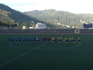 Sporting Taormina-Giarre in mezzo al campo