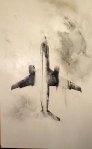 Una delle opere in mostra fino al prossimo 27 dicembre