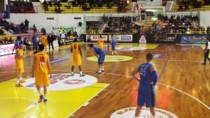 Fase di gioco (Barcellona-Agropoli)