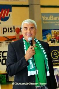 Il presidente del Green Palermo Fabrizio Mantia