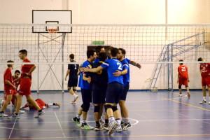 La formazione maschile dell'Orlandina Volley